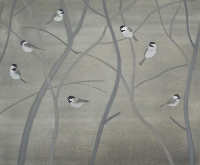 , 'Seven Chickadees,' 2012, Tayloe Piggott Gallery