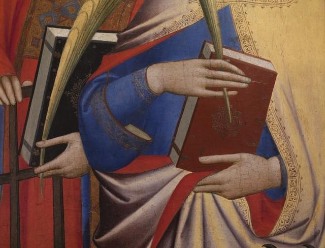 Reinhard Gorner, 'Detail From: The Saints Laurentius and Catherine, Giovanni Gaddi, 1380', 2008, Undercurrent Projects