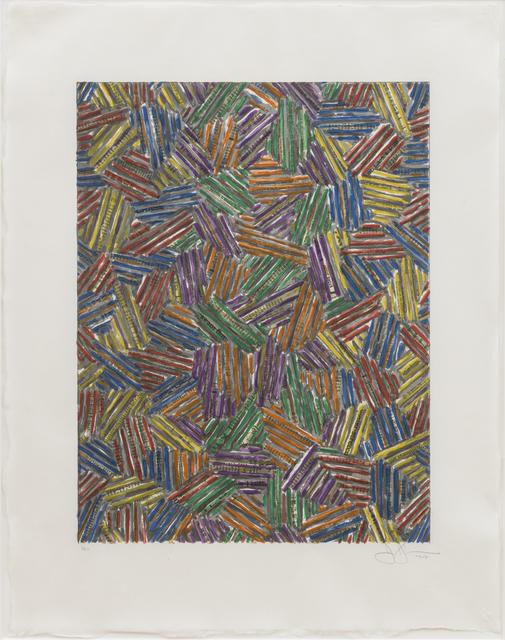 Jasper Johns, 'Cicada II', 1981, Sims Reed Gallery