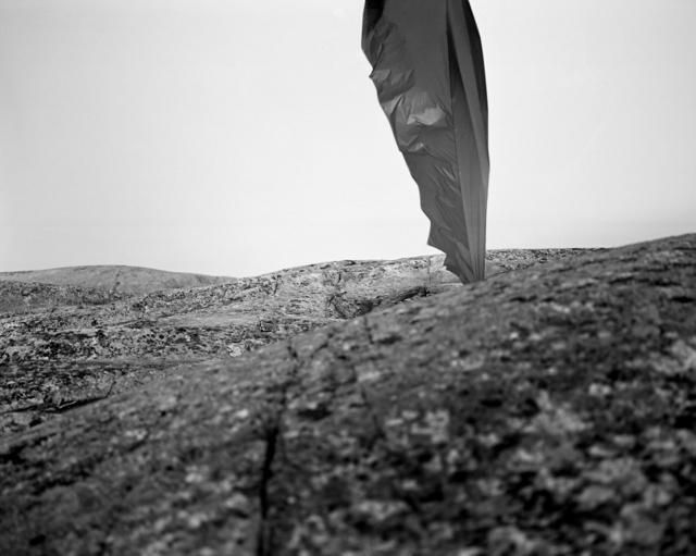 , ' String, cloth, kite, and anchor #01,' 2012, Dedee Shattuck Gallery