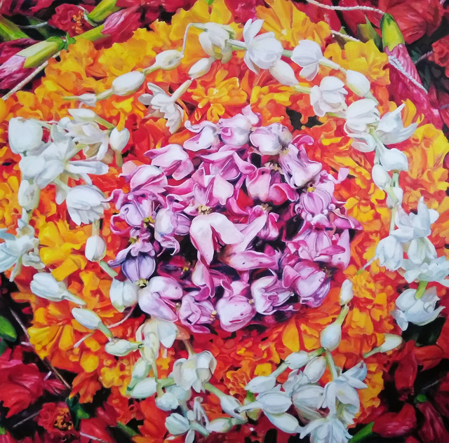 , 'Puja Mandala 1,' 2018, BoxHeart