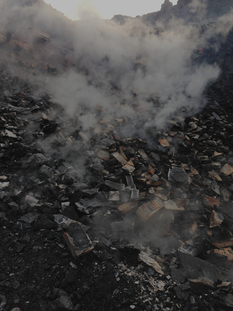 , 'Jharia End of Time 75,' 2014, TARQ