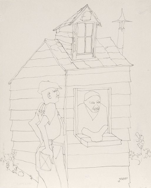 , 'Symbols Study #37,' 1970, Michael Rosenfeld Gallery