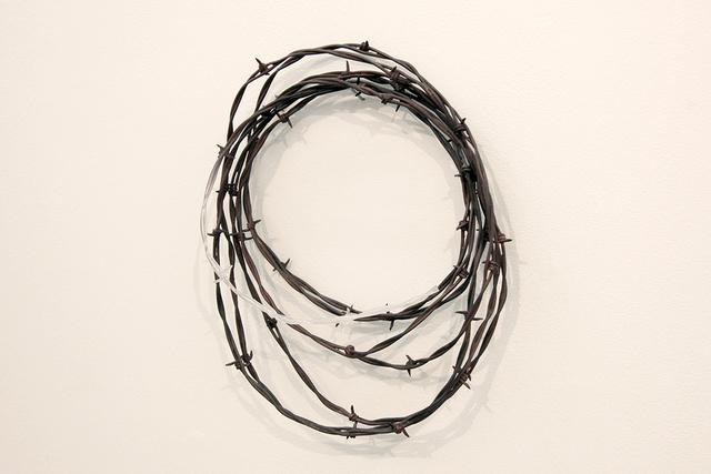 , 'Yushitessen (Barbed Wire),' 2015, MA2Gallery