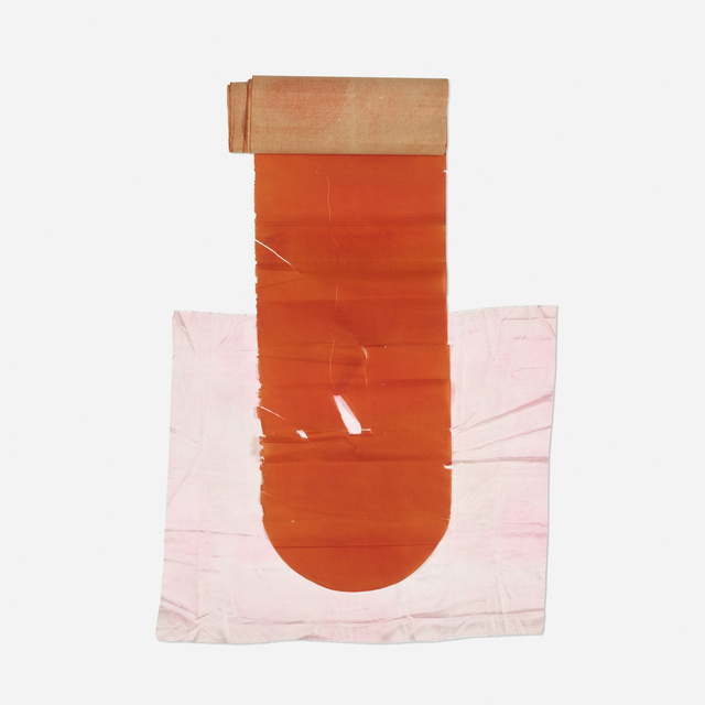 James Lee Byars, 'Untitled', c. 1975, Mixed Media, Painted paper, silk, thread, Rago/Wright