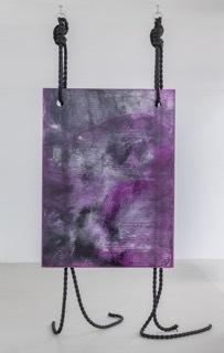 , 'Ghost Work (purple),' 2016, Galerie Juliètte Jongma