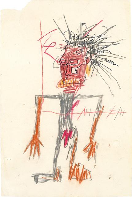 Jean-Michel Basquiat, 'Untitled (Standing Male Figure)', circa 1982-1983, Phillips
