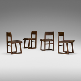 chairs from Chandigarh, set of four