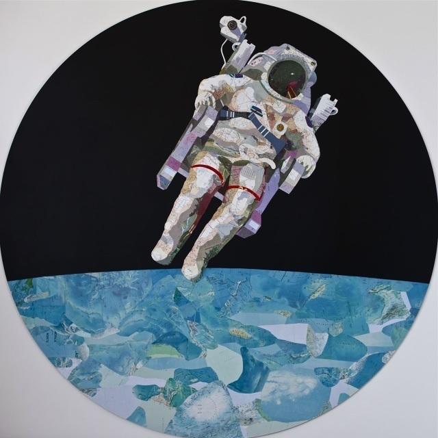 , 'Spaceman,' , TramasGaleria de Arte