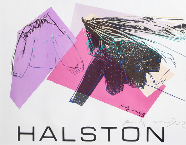 Andy Warhol, 'Halston Advertising Campaign: Women's Wear', 1982, Ephemera or Merchandise, Offset Lithograph Poster, RoGallery