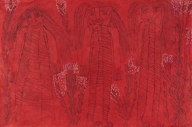 , 'Untitled (Tres Mujeres) [framed],' 2017, Creativity Explored