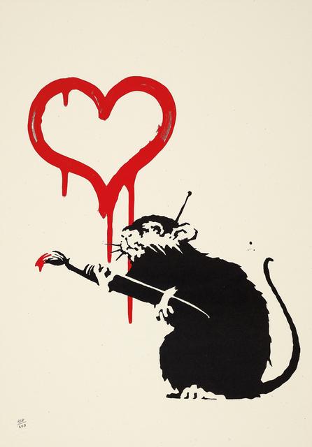 Banksy, 'Love Rat', 2004, Phillips