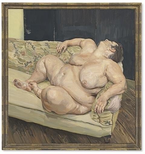 Lucian Freud, 'Benefits Supervisor Resting', 1994, Christie's
