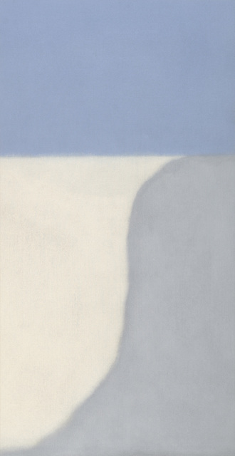 , 'Untitled (Gray/Blue Vertical),' 2014, Berry Campbell Gallery