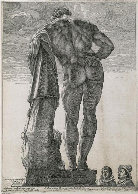 , 'Herkules Farnese,' 1592, Kunstmuseum Basel