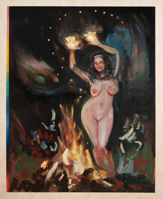 , 'Fire Dance,' 2018, NK Gallery