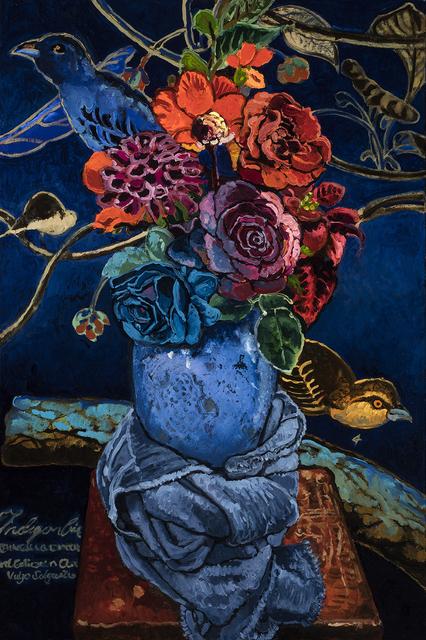 , 'Indigo Bird,' 2016, 101/EXHIBIT