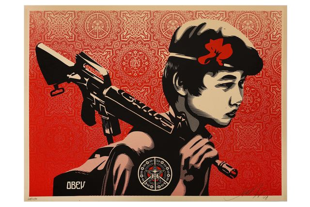 Shepard Fairey, 'Duality of Humanity 2', 2009, Chiswick Auctions