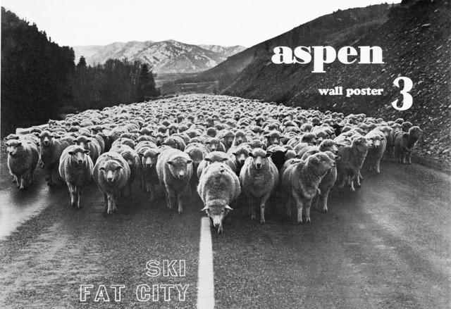, 'Aspen Wallposter #3 ,' April 1970, Gonzo Gallery