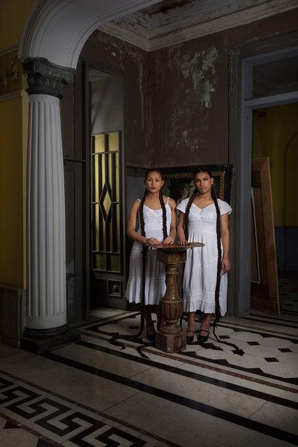 , 'Andreina & Sara Nicolle,' 2015, McClain Gallery