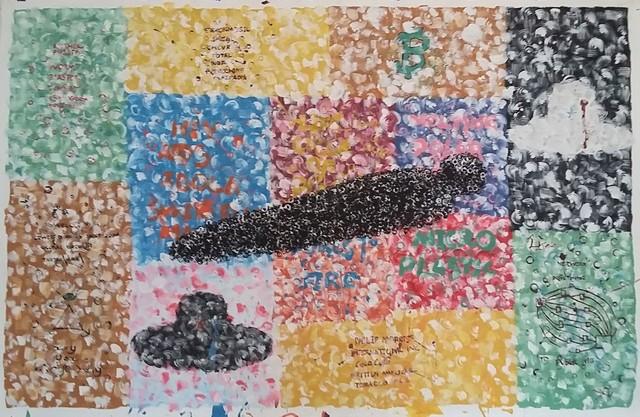 Sciniseko Jele, 'Litjalo lefuka - Blanket of death', 2019, Yebo Art Gallery