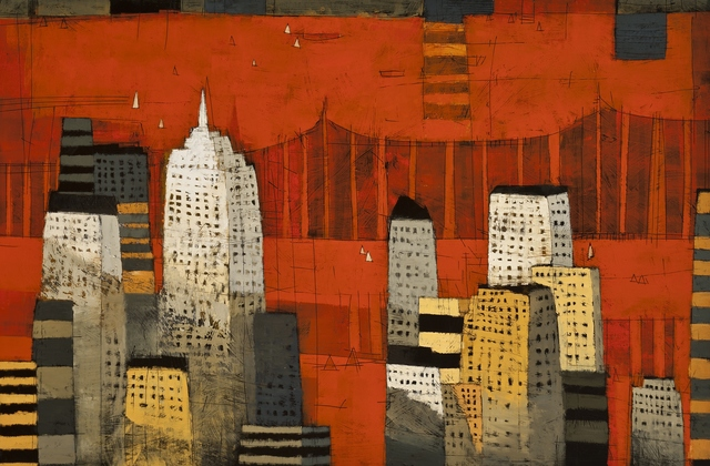 Paul Balmer, 'Manhattan Spires', 2013, Private Collection, NY