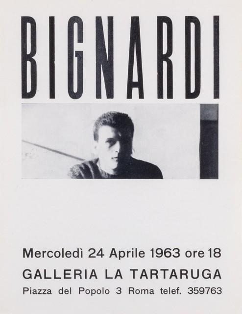 Umberto Bignardi, 'Bignardi', 1963, Finarte