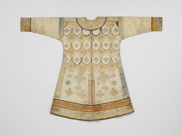 , 'Woman's party coat ,' Second half of the 19th century , Musée du quai Branly