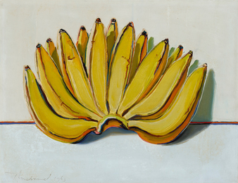 Wayne Thiebaud, 'Bananas,' 1963, Sotheby's: Contemporary Art Day Auction