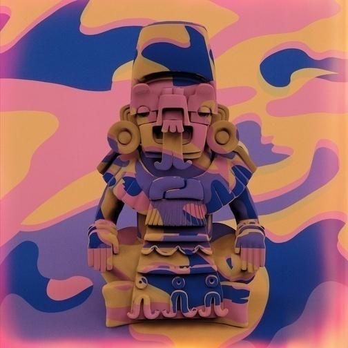 Jon Rafman, 'Warhol Aztec', 2013, Galerie Antoine Ertaskiran