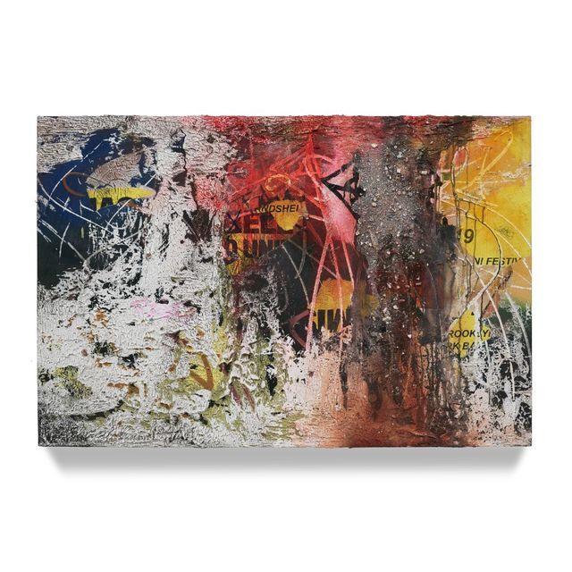 José Parlá, 'Bergen Street & 3rd Ave Boerum Hill', 2019, Ben Brown Fine Arts