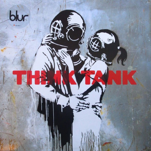 Banksy, 'Think Tank album cover', 2003, Dope! Gallery