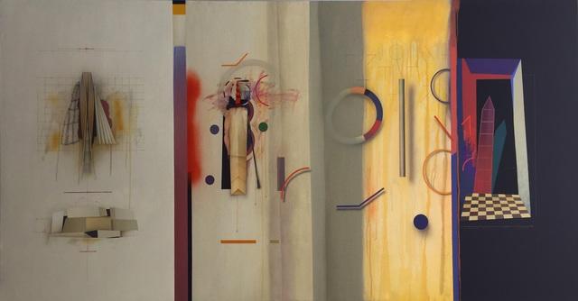 , 'Construcciones, el Vuelo,' 2016, La Galería