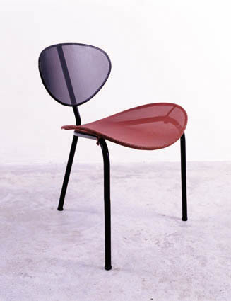 ", 'Fauteuil ""Nagasaki"" / ""Nagasaki"" armchair,' 1954, Jousse Entreprise"