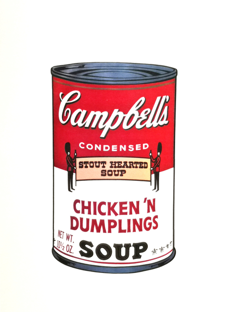 Andy Warhol, 'Chicken'n Dumplings Soup', 1970, Print, Colour serigraphs on vellum, NextStreet Gallery
