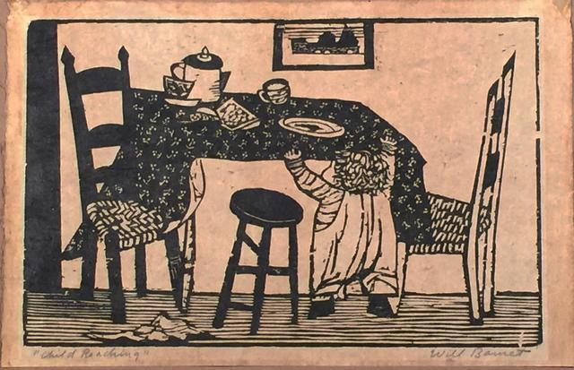 Will Barnet, 'Child Reaching', 1940, Resource Art