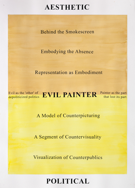 , 'From the evil painter series,' 2013, Loock Galerie