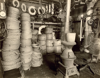 Rope Store, South Street and James Slip, Manhattan