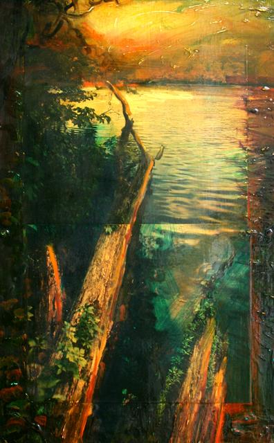 , 'Olana Study 12,' 1992, Galerie de Bellefeuille