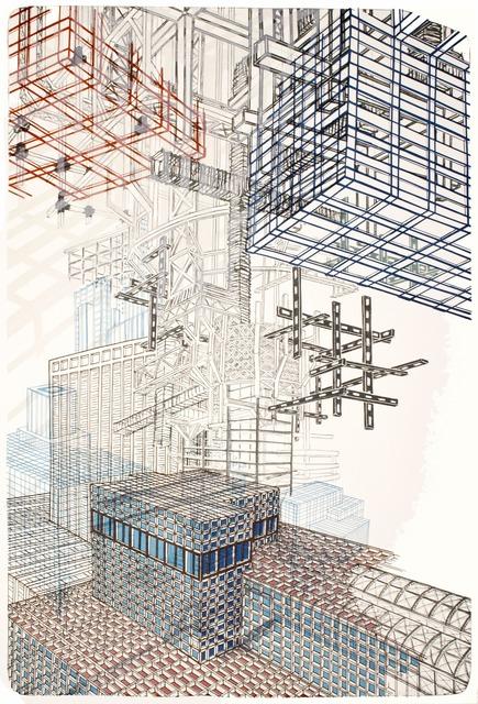 , 'Infrastructure #2,' 2012, Tamarind Institute