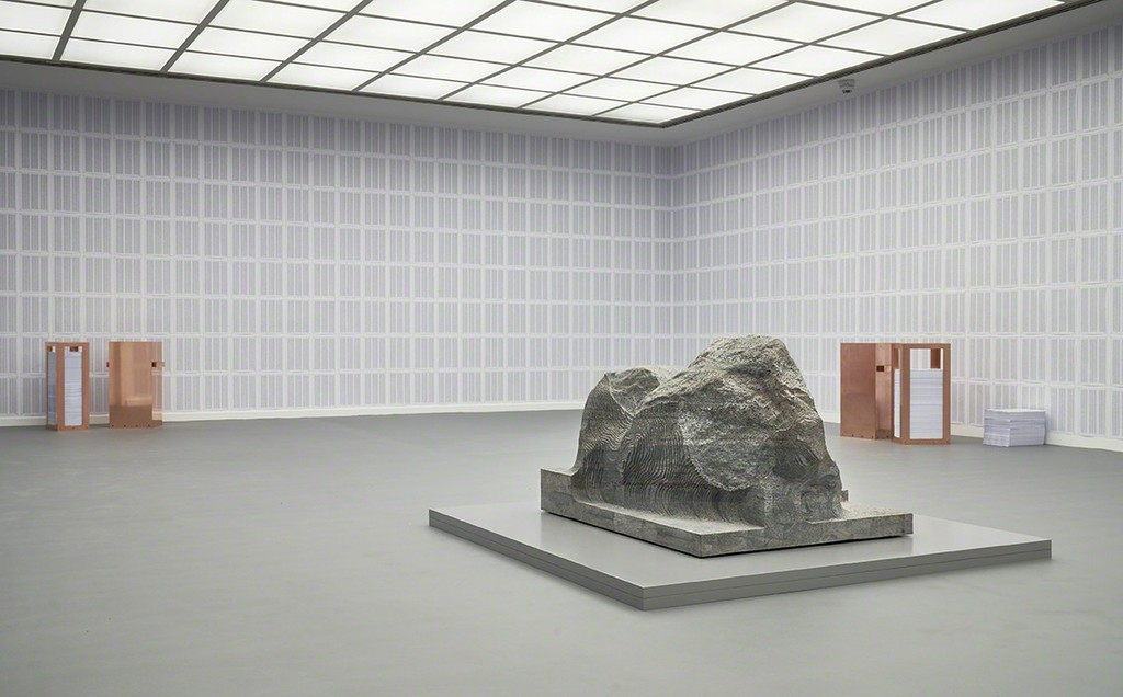 """Alicja Kwade, """"Gegebenenfalls die Wirklichkeit"""", 2017"""