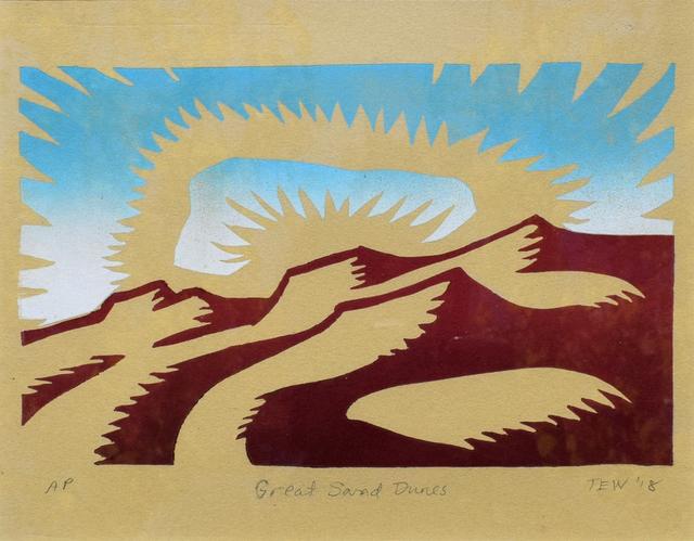 , 'Great Sand Dunes,' , Modernist Frontier