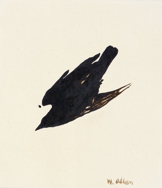 , 'Crow #8,' 2016, Anglim Gilbert Gallery