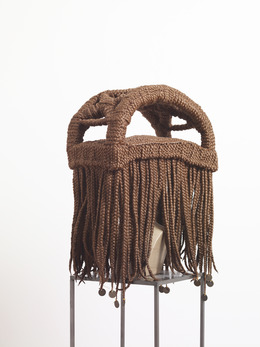 , 'Kwame N'Krumah (perruque MAVA-musée d'art de la vie active),' 2010-2011, In Situ - Fabienne Leclerc