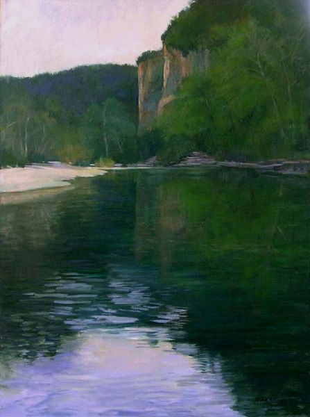 , 'Bluffs Along the Buffalo River,' , Greg Thompson Fine Art