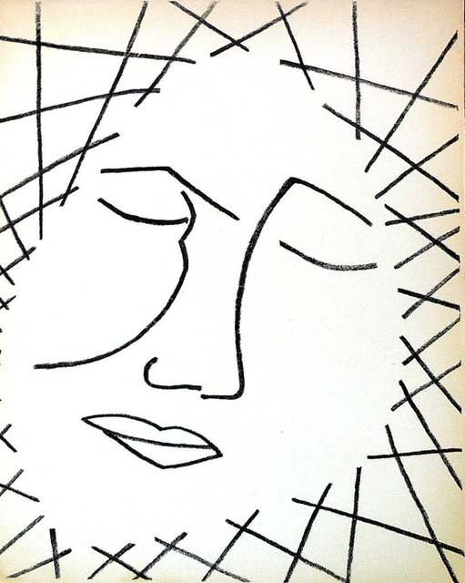 Françoise Gilot, 'Untitled Face', 1951, Lions Gallery