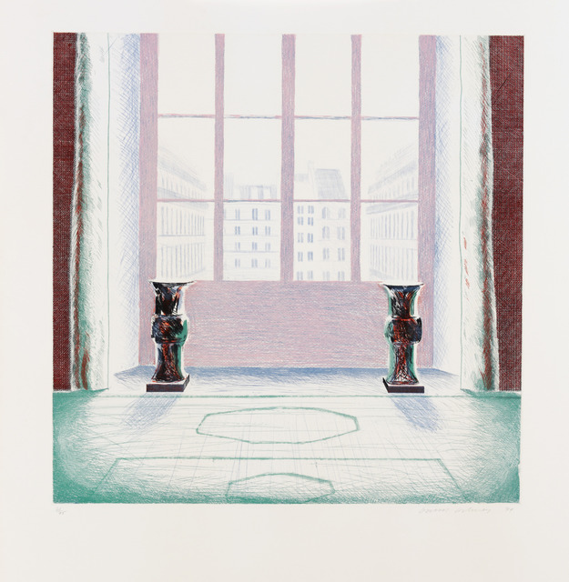, 'Two Vases in the Louvre,' 1974, Sims Reed Gallery