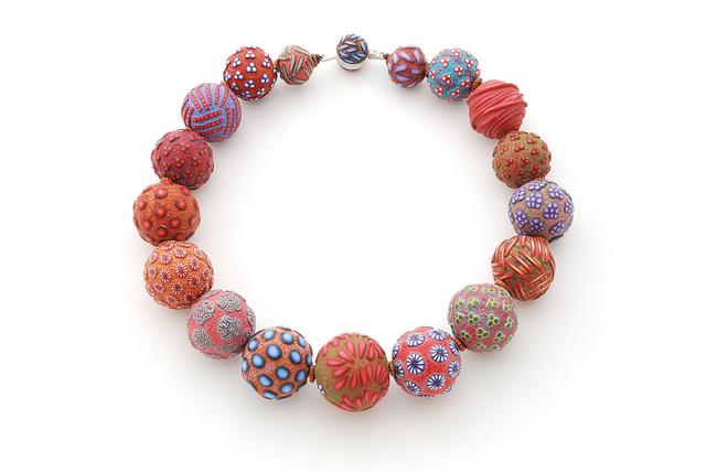 , 'Big Bead necklace #144,' 2016, form & concept