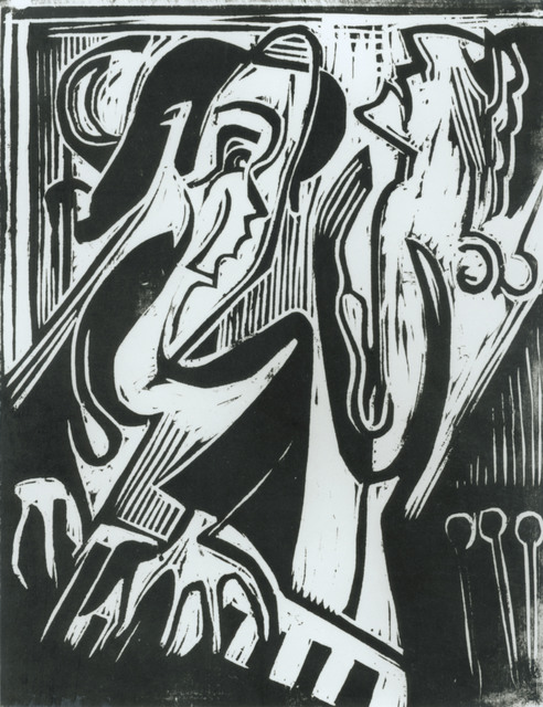, 'Pianist und Sängerin,' 1928, Henze & Ketterer