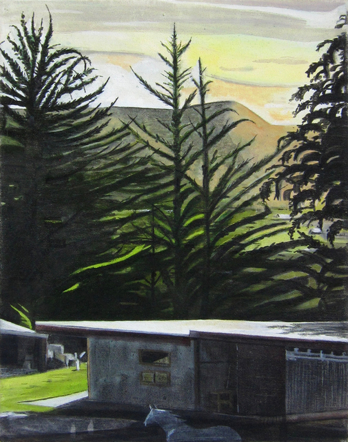 , 'Cypresses at Dusk,' , Gail Severn Gallery